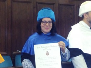 Estefania Royal academy of doctors award