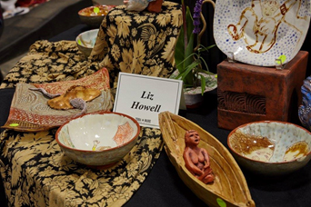 Liz's clay work and ceramics featured at the 2015 Terra Madre 6th Annual Show & Sale.